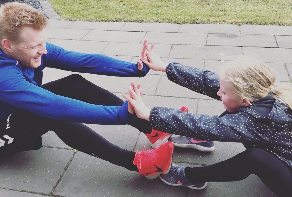styrketræning med børnene
