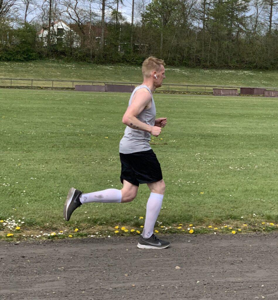 Running Dad på rekordjagt